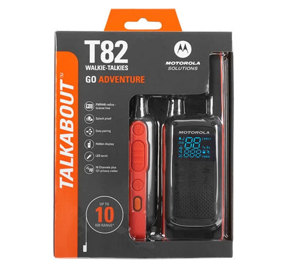Motorola TLKR T82 Twin Pack